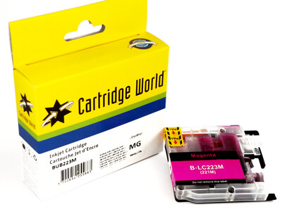 BROTHER LC223 CW REPLACEMENT MAGENTA INK