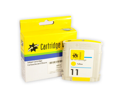 HP 11 CW REPLACEMENT YELLOW INK WIGIG