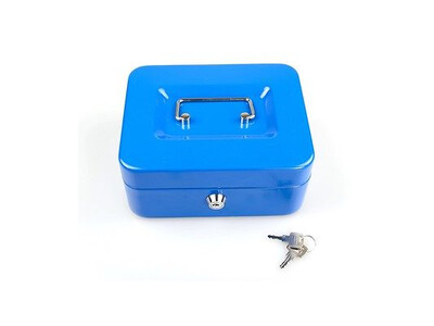 CASH BOX HOLDER 10 BLUE