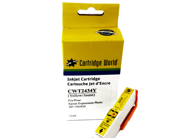EPSON T24XL CW REPLACEMENT YELLOW INK WIGIG