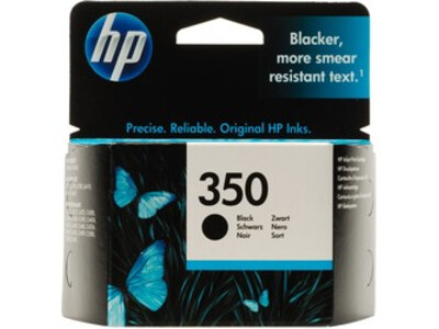 HP 350 ORIGINAL BLACK 4.5ML INK
