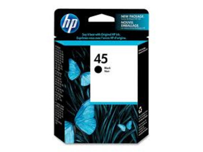 HP 45 ORIGINAL BLACK INK