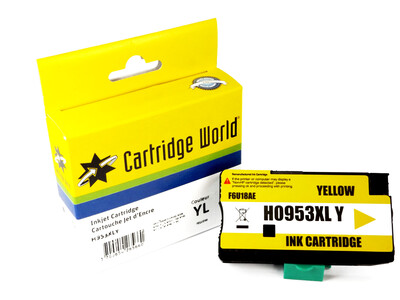 HP 953XL CW REPLACEMENT YELLOW INK