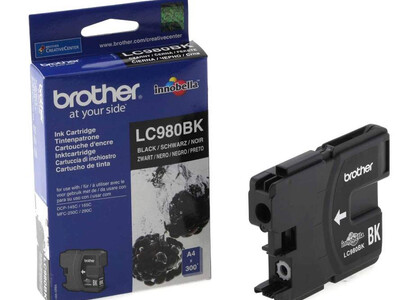 BROTHER LC980 ORIGINAL BLACK INK