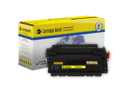 HP CE255X / CANON 724H CW REPLACEMENT H/Y TONER BLACK