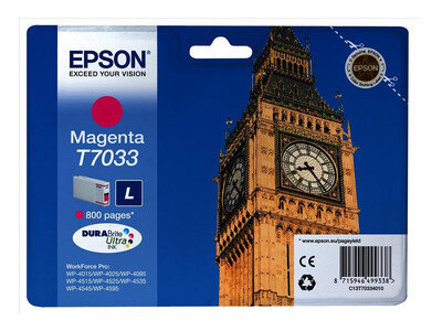 EPSON T703340 ORIGINAL MAGENTA INK LARGE