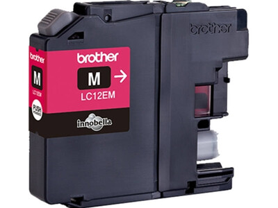 BROTHER LC12E ORIGINAL MAGENTA INK