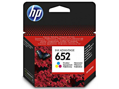 HP 652 ORIGINAL COLOUR INK F6V24AE *200 PAGES