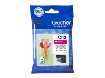 BROTHER LC3213 ORIGINAL MAGENTA INK
