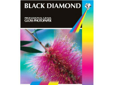 BLACK DIAMOND GLOSS PHOTO PAPER 10X15 210GM 50PK