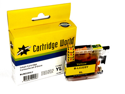 BROTHER LC225XL CW REPLACEMENT YELLOW INK WIGIG