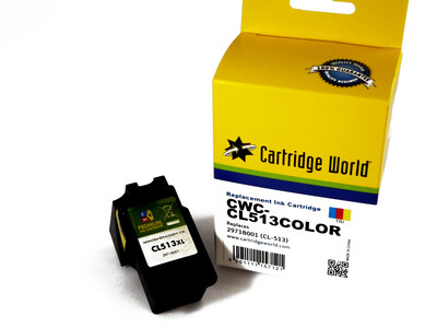 CANON CL513 CW REPLACEMENT COLOUR INK *16.5ML with ink level chip