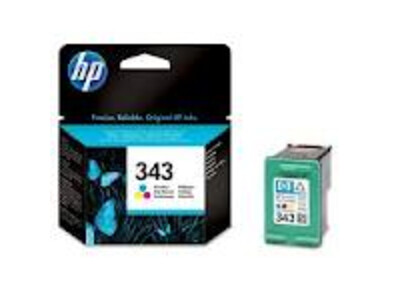 HP 343 ORIGINAL COLOUR INK 10ML