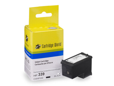 HP 339 REPLACEMENT BLACK 30 More Ink