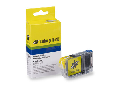 CANON BCI3/3e/5/6BK COMPATIBLE INK BLACK WIGIG CLEARANCE ITEM