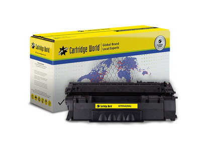 HP Q7553A / CANON CRG 315/715 CW REPLACEMENT TONER BLACK