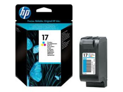 HP 17 ORIGINAL COLOUR INK