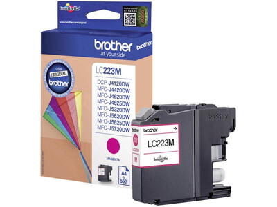 BROTHERLC223 ORIGINAL MAGENTA INK