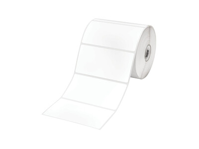 THERMAL WHITE PAPER LABELS 102MM X 50MM