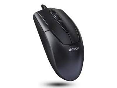A4TECH WIRED PADLESS MOUSE BLACK