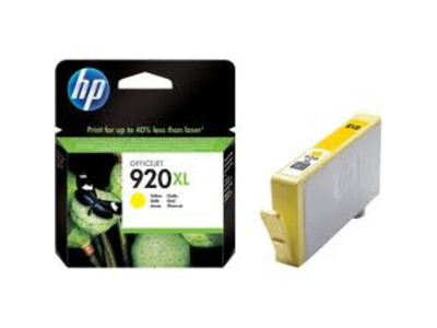 HP 920 EXTRA LARGE ORIGINAL YELLOW INK