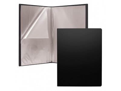 ERICHKRAUSE DISPLAY BOOK CLASSIC 30 POCKETS A4 BLACK