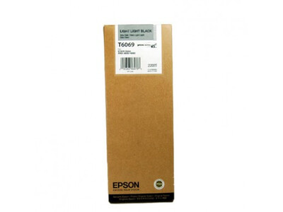 EPSON 4800/4880 T606900 L/LIGHT-BLACK 220ML INK