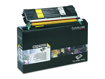 LEXMARK C5240 H/Y ORIGINAL YELLOW TONER
