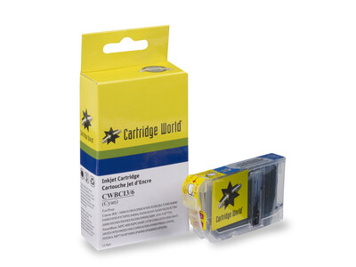 CANON BCI3/3e/5/6 COMPATIBLE CYAN INK WIGIG
