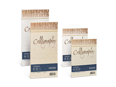 CALLIGRAPHY CANVAS A4 200G PAPER 50
