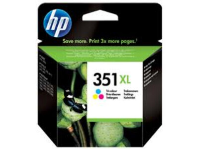 HP 351 EXTRA LARGE ORIGINAL COLOUR INK 14ML