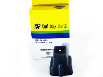 HP 363 COMPATIBLE HIGH YIELD BLACK INK WIGIG