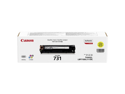 CANON 731 ORIGINAL TONER YELLOW