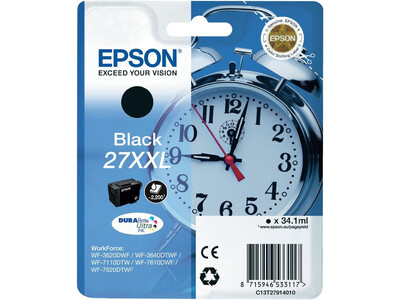 EPSON T27XXL ORIGINAL BLACK INK