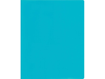 PVC FOLDER A4 L SHAPE10PCS BLUE