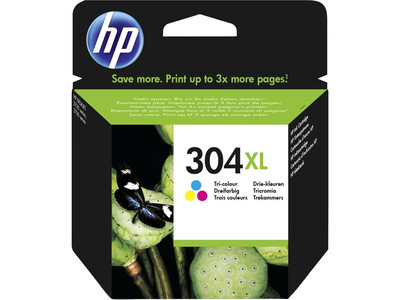 HP 304XL ORIGINAL COLOUR INK *300 Pages