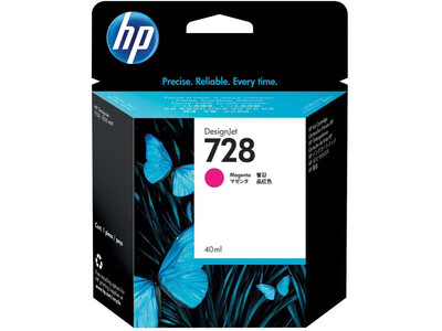 HP 728 ORIGINAL MAGENTA INK