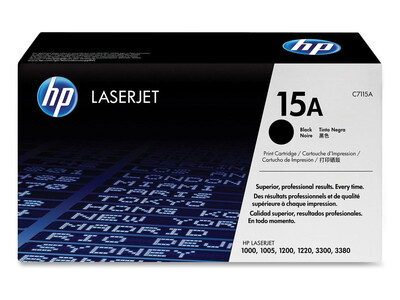 HP C7115A ORIGINAL TONER BLACK