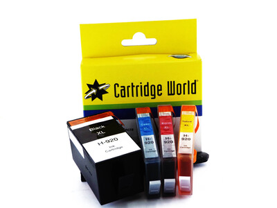 HP 920 XL CW REPLACEMENT SET OF 4 INKS