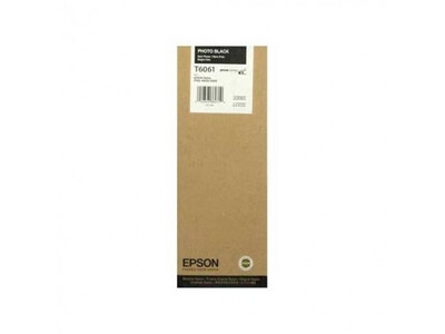 EPSON 4800/4880 T606100 PHOTO-BLACK 220ML INK