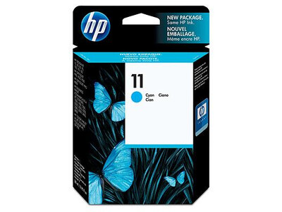 HP 11 ORIGINAL CYAN INK