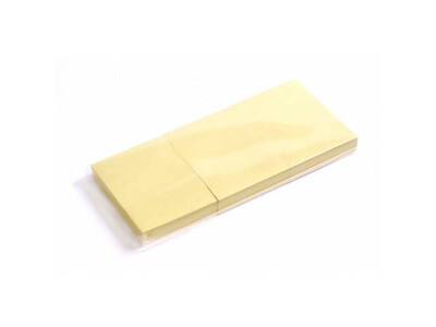 STICKY NOTES YELLOW 38X51 3PCS