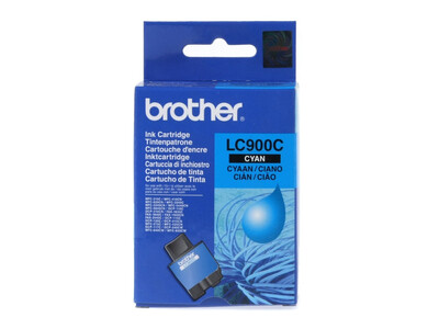 BROTHER LC900 ORIGINAL CYAN INK