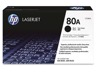 HP CF280A ORIGINAL TONER BLACK 80A
