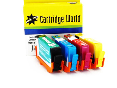 HP 655 CW REPLACEMENT INKS SET OF 4