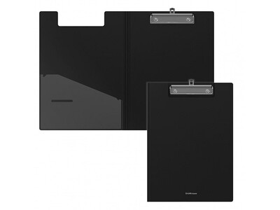 ERICHKRAUSE CLIPBOARD WITH COVER CLASSIC A4 BLACK