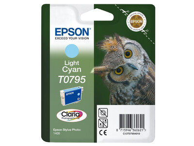 EPSON T0795 ORIGINAL LIGHT CYAN INK