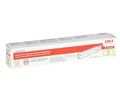 OKI C3520 ORIGINAL TONER YELLOW