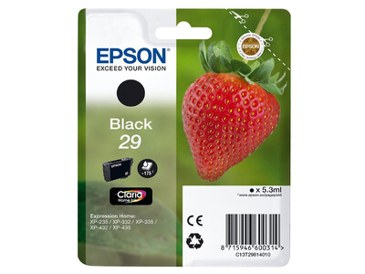 EPSON T29 ORIGINAL BLACK INK