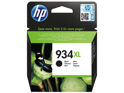 HP 934XL ORIGINAL BLACK INK